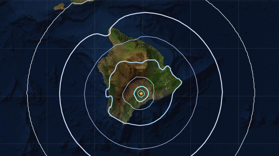 Magnitude 4.2 Earthquake Shakes Hawaiʻi Island