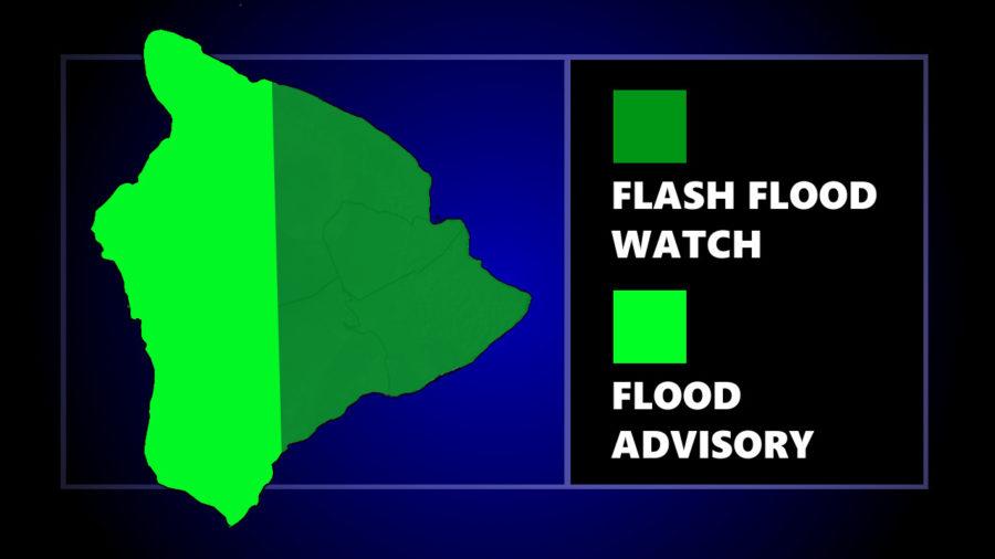 Flash Flood Watch Continues For Hawaiʻi Island