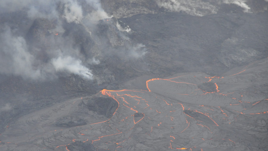 Kilauea Volcano Activity Update for Sunday, Mar. 14