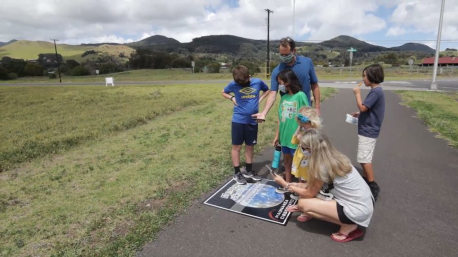 Waimea Solar System Walk Launches Month-Long Event