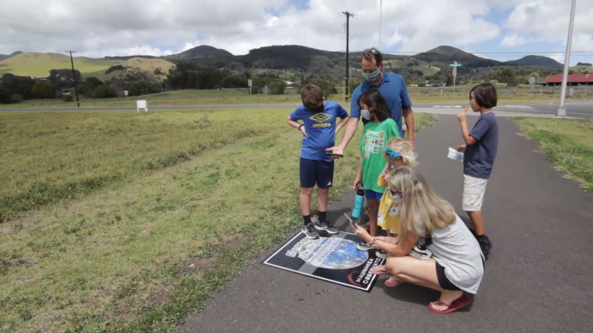 Waimea Solar System Walk Launches Monthly Event
