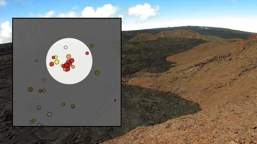 Earthquake Swarm Detected On Mauna Loa Southeast Flank