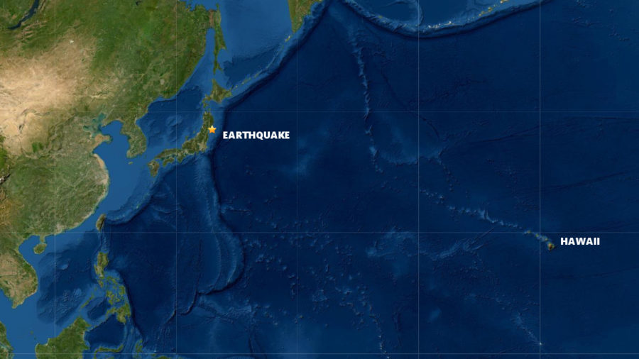 No Tsunami Threat To Hawaiʻi Following Earthquake Off Japan