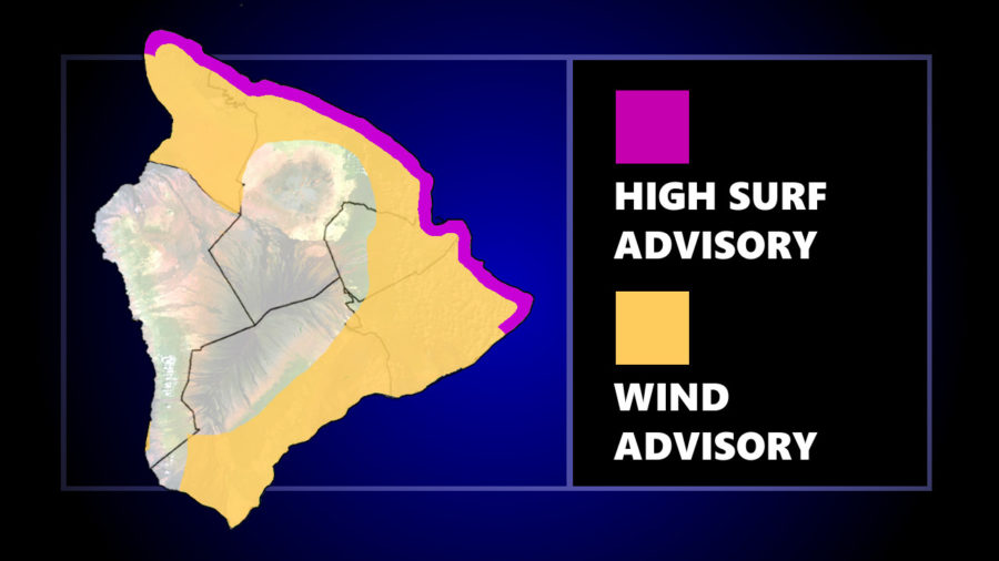 Wind, High Surf Advisories In Effect For Hawaiʻi