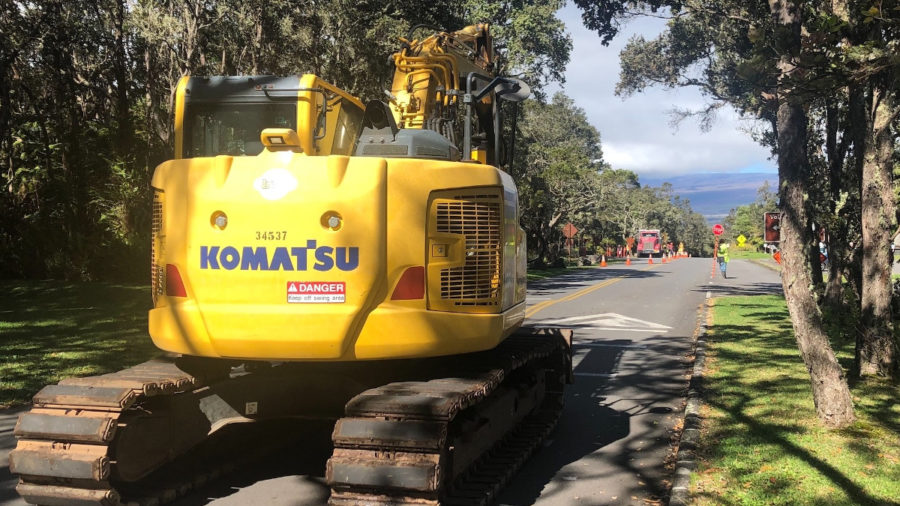 New Webpage Shows Road Closures In Hawai'i Volcanoes National Park