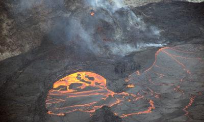 Hawaiʻi Volcano Update: Kilauea Eruption, Mauna Loa Deflation