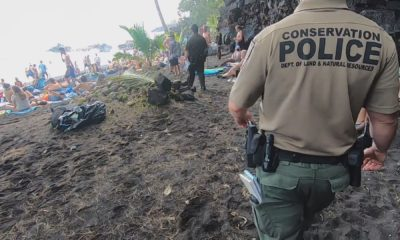 Police Crack Down At Kehena Beach