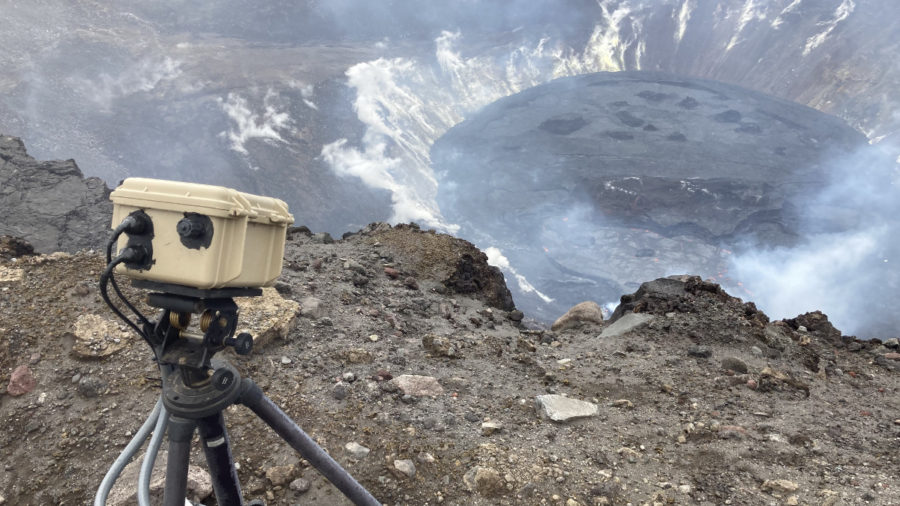 VOLCANO WATCH: How Scientists Measure Kīlauea's Summit Lava Lake