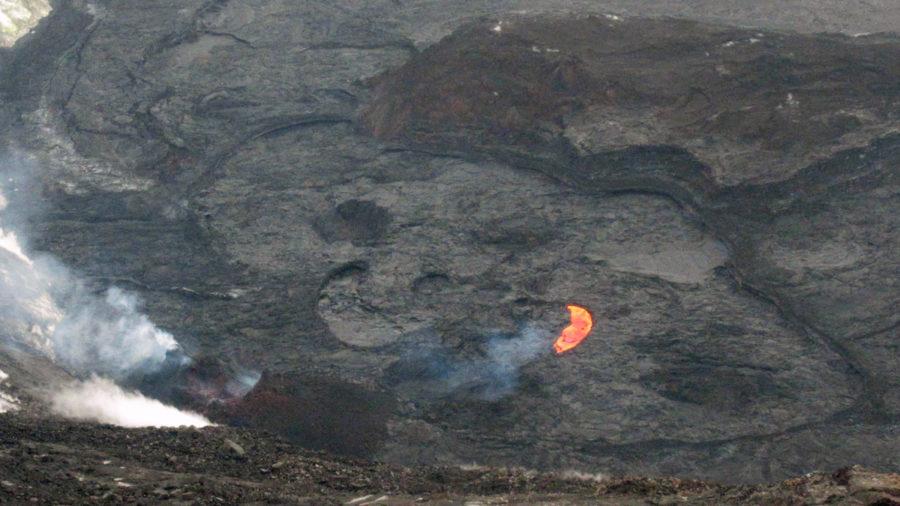 At 5 Months, Kilauea Lava Lake Surface 99% Crust