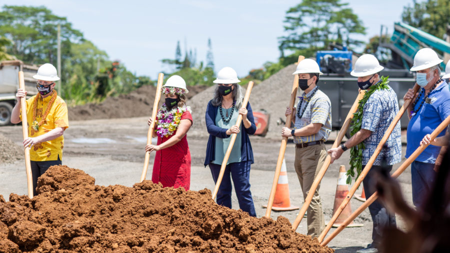 Puna's First Senior Affordable Housing Project Breaks Ground