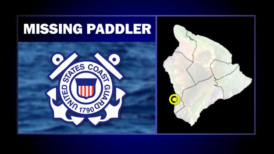 Search For Missing Canoe Paddler Off Hōnaunau