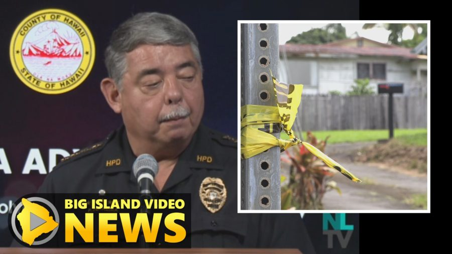 VIDEO: News Conference On Fatal Police-Involved Shooting In Hilo