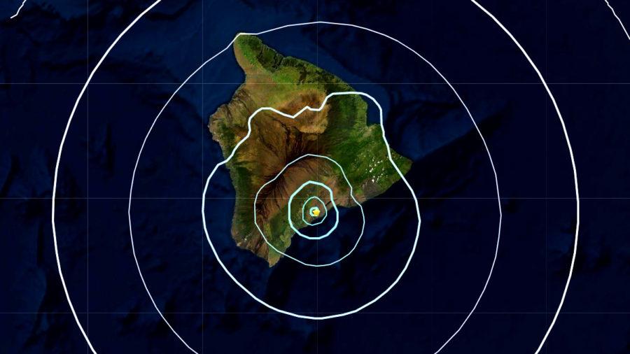 Magnitude 4.5 Earthquake Felt On Hawaii Island