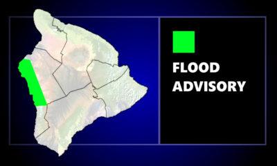 Flood Advisory For Kona, Portion Of Highway Closed