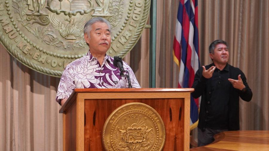 Governor Ige Intends To Veto 28 Bills