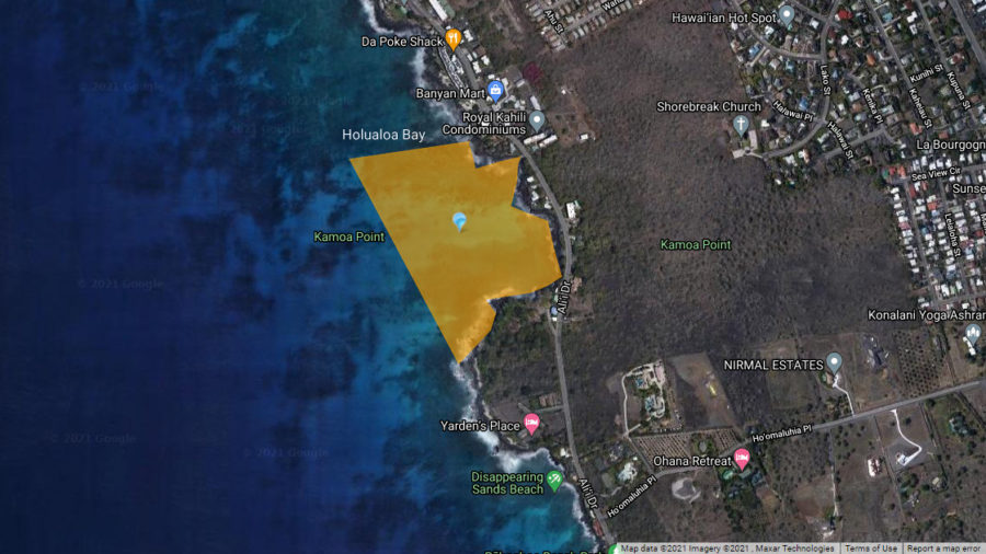 Brown Water Advisory Issued For Kona's Holualoa Bay