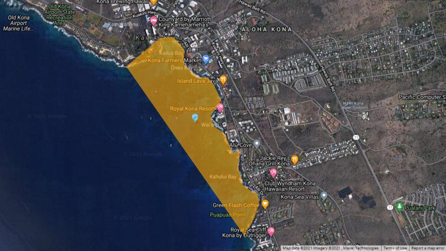 Brown Water Advisory Issued For Kona Shoreline