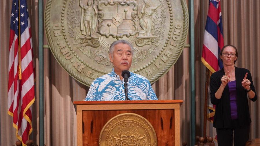 Governor Ige Vetoes 26 Of 28 Bills On Veto List