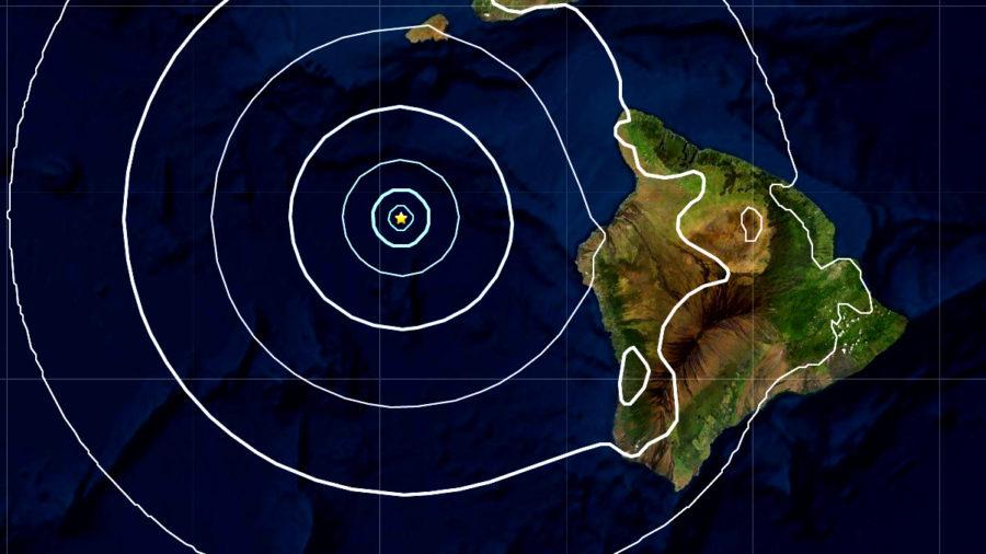 Magnitude 4.2 Earthquake West Of Kona Coast