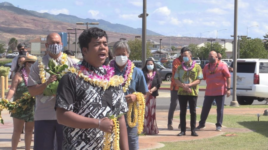 VIDEO: Ceremony Marks 100 Years Of Hawaiian Homes Commission Act