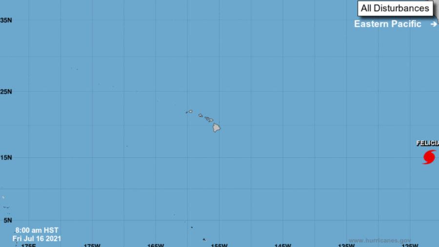 Felicia Becomes Major Hurricane, Should Weaken In Days