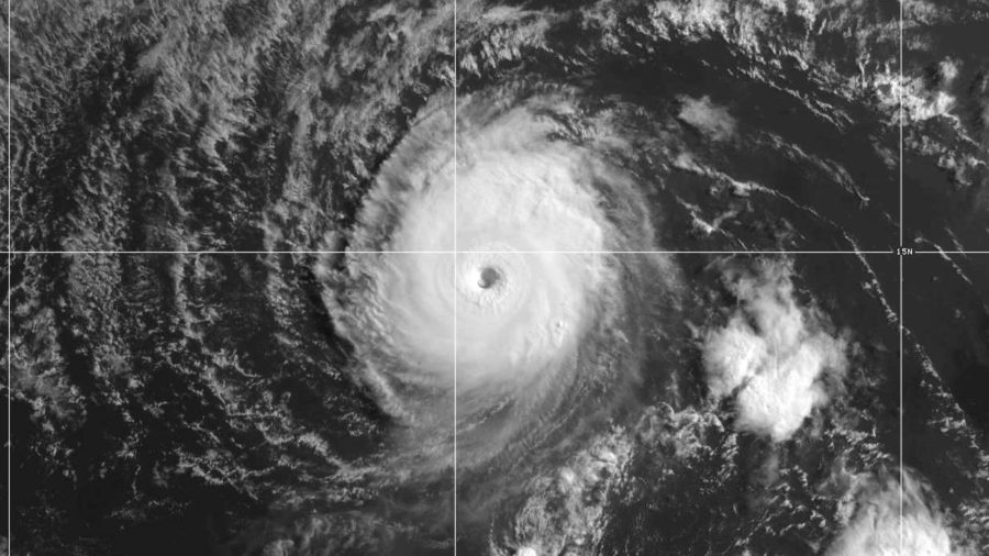 """""""Tiny But Ferocious"""" Category Four Felicia Moving West In Pacific"""