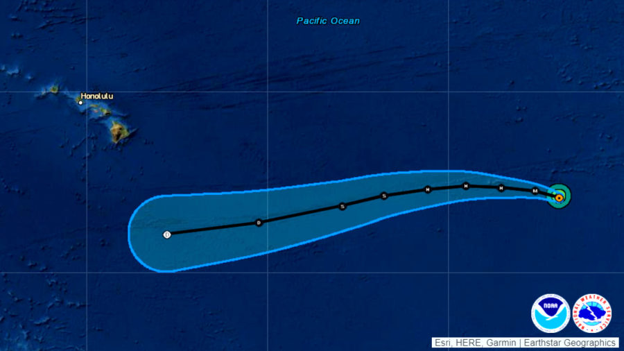 Hurricane Felicia Still A Category Four, Expected To Weaken
