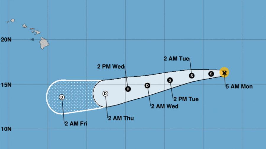 Hurricane Felicia Weakening As It Nears Central Pacific