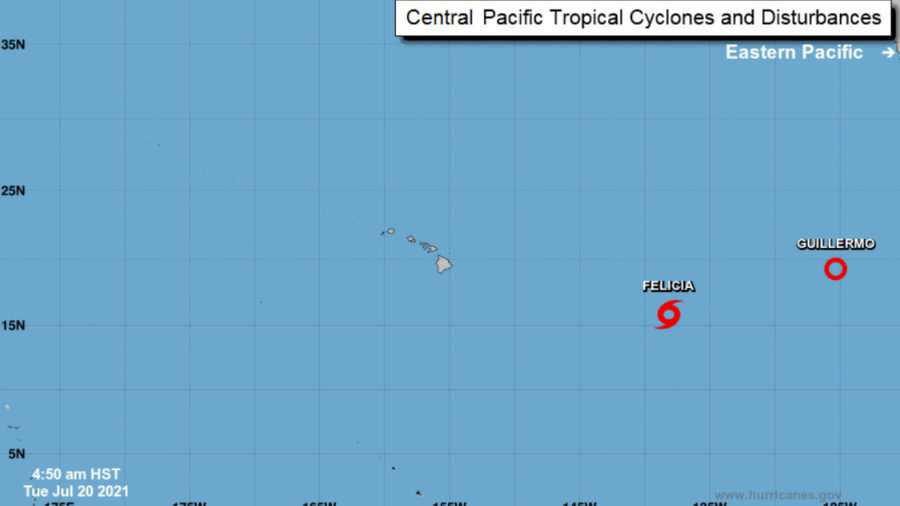 Tropical Storm Felicia Likely To Become Remnant Low Soon