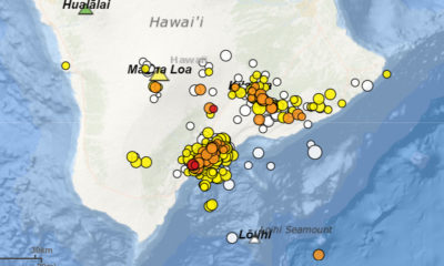 VOLCANO WATCH: Some Earthquakes Caused By Heavy Hawaiian Volcanoes