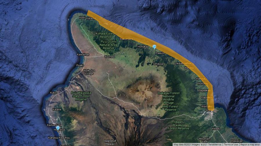 Brown Water Advisory For Hilo Bay, Hāmākua Coast