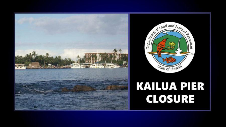 Kailua Pier Closure Begins Wednesday, July 28