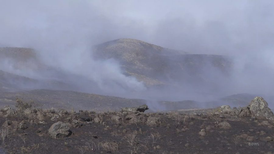 """Officials Say Brush Fire """"Stabilized"""", Road Closures Continue"""