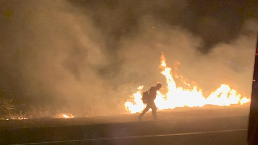 Hawaiʻi Brush Fire, Road Closure Update