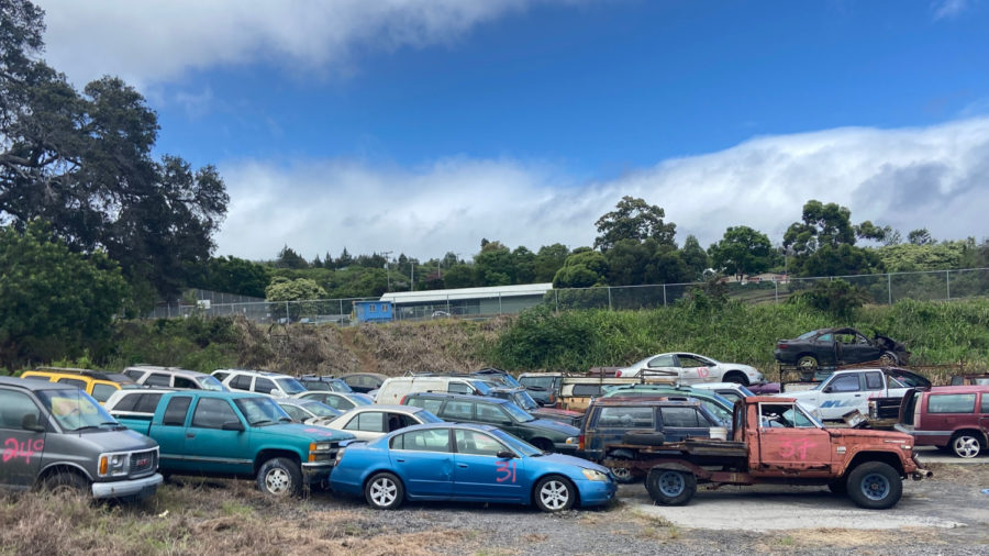 58 Junk Vehicles Removed From Hawaiian Ocean View Estates