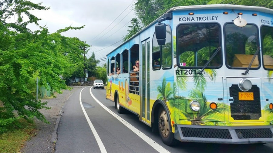 Kona Trolley Relaunched As Hele-On Route 201