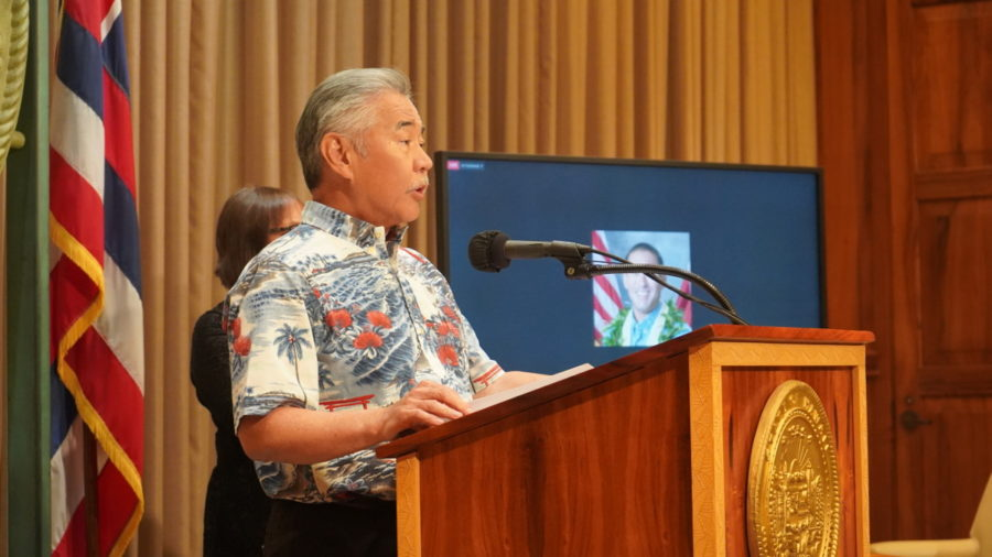 Governor Ige Limits Gathering Sizes Due To Hawaiʻi COVID Spike