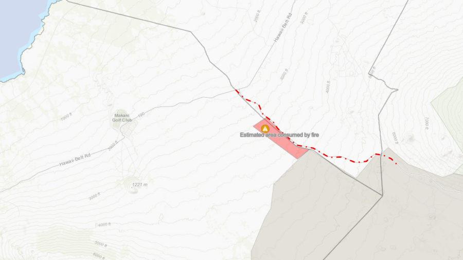 Brush Fire Update: Daniel K. Inouye Highway Remains Closed