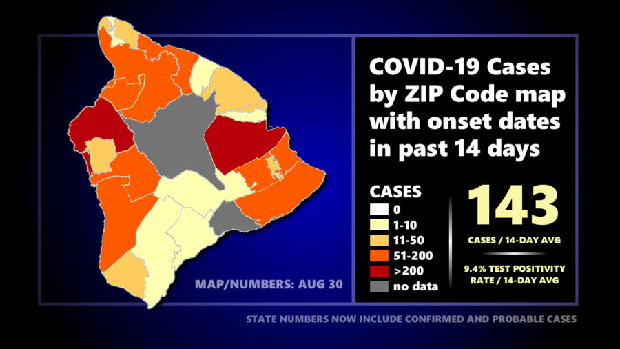 Hawaiʻi COVID-19 Update: 139 New Cases On Big Island