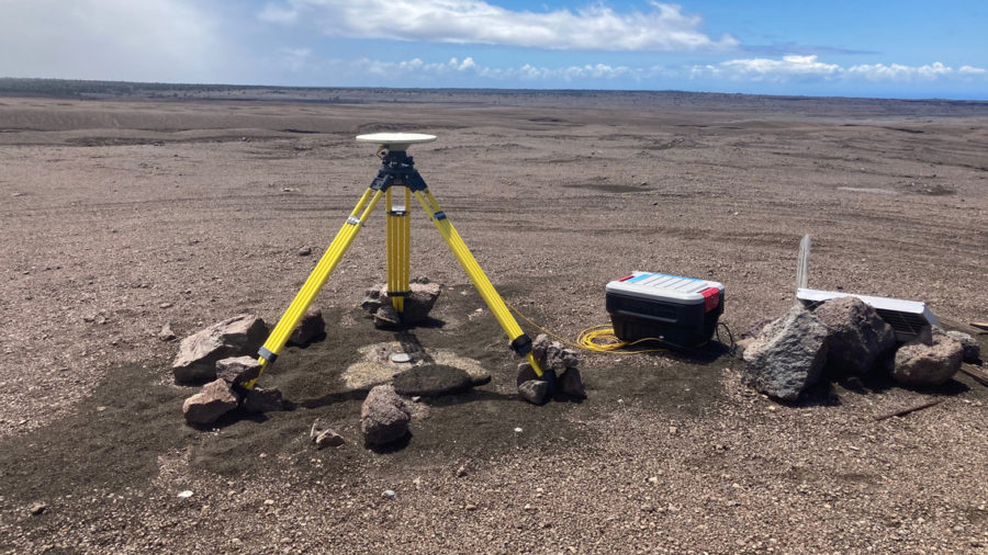 Kilauea Earthquake Swarms, Deformation Cease