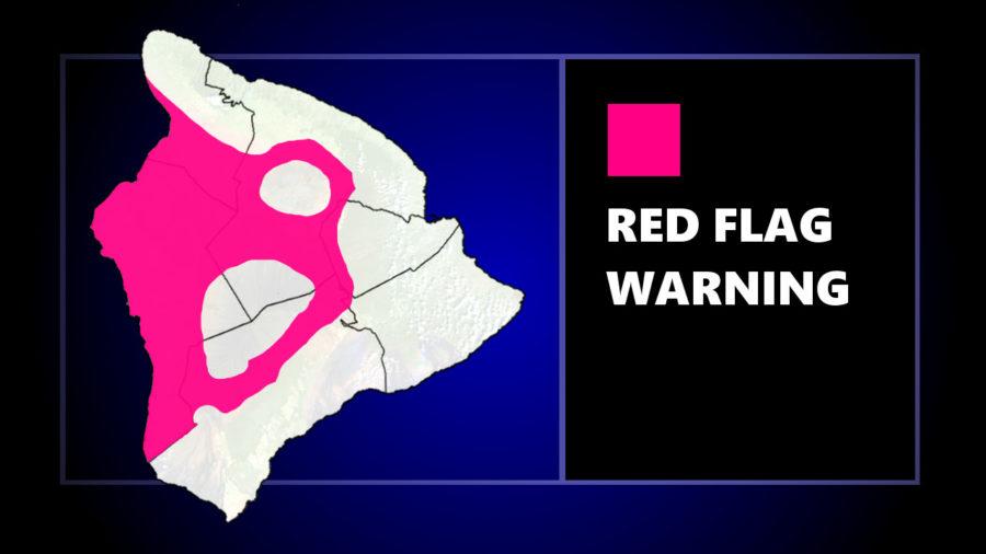 Reg Flag Warning For Leeward Hawaiʻi Continues