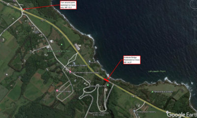 Kolekole Bridge Weight Limit Reduced To 4 Tons