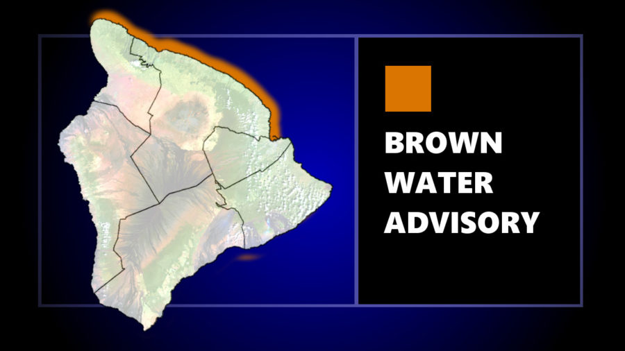 Brown Water Advisory Issued For East Hawaiʻi Shores