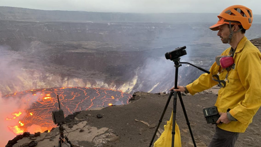 VIDEO: Scientists Capture First Images Of New Kilauea Eruption