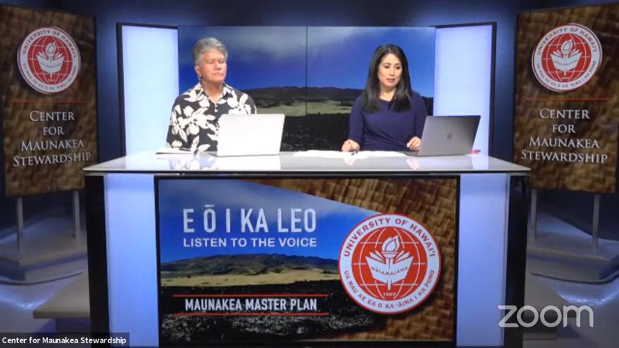 VIDEO: Maunakea Master Plan Virtual Forum Held