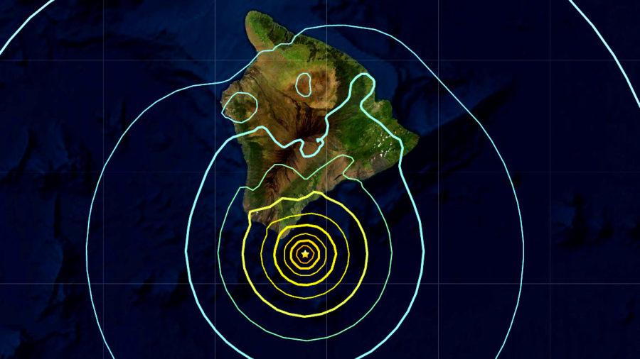 M6.2 Earthquake Off Kaʻū Rattles Hawaiʻi