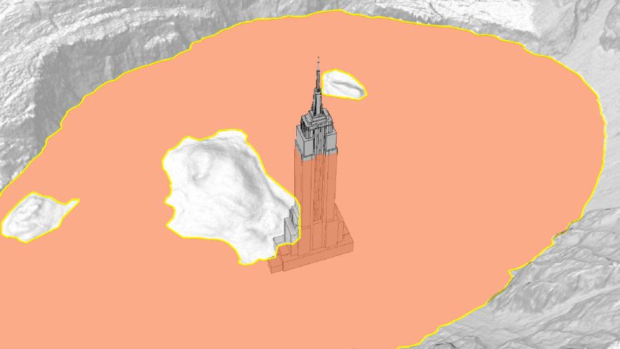 Lava Lake 70 Floors Deep, USGS Illustration Shows