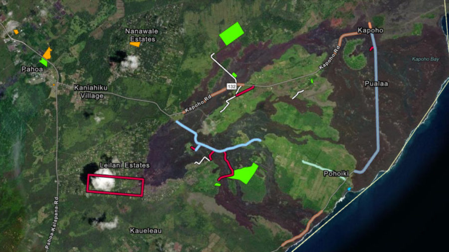 Highway 137, Pohoiki Road Restoration Plans Submitted To FEMA