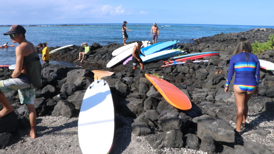 New Kahalu'u Bay Surf School Rules Approved
